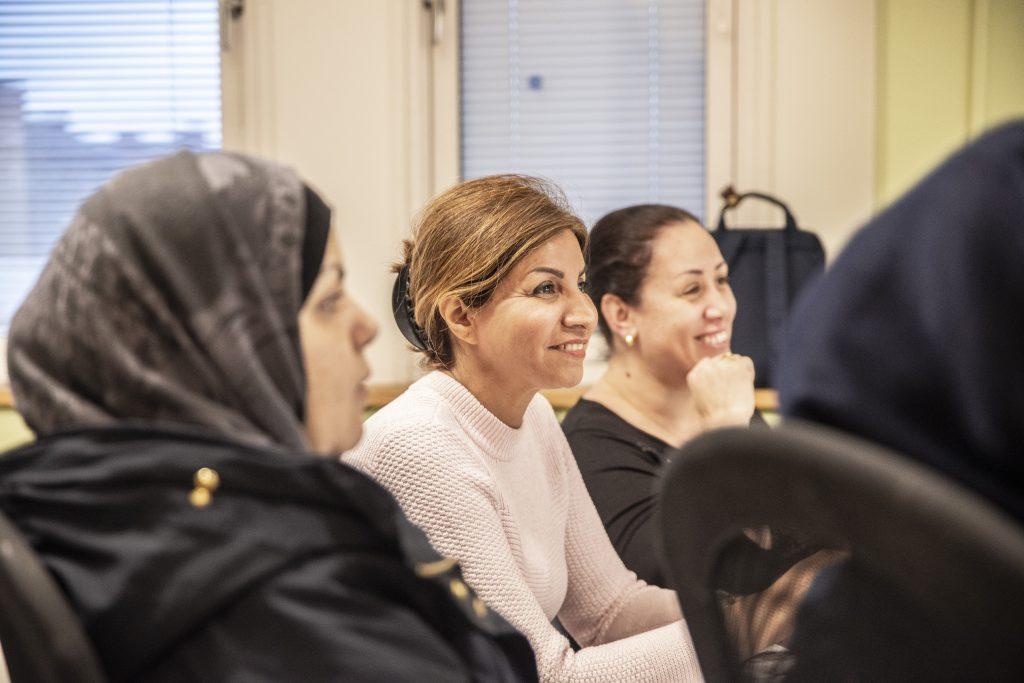 bättre svenska för invandrare